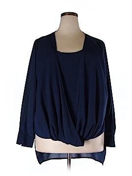 IGIGI Long Sleeve Blouse Size 18 - 20 Plus (Plus)