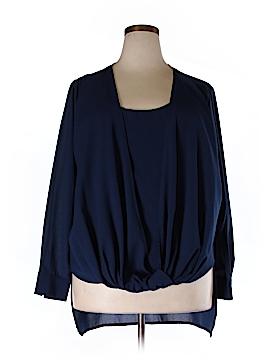 IGIGI Long Sleeve Blouse Size 22 - 24 Plus (Plus)