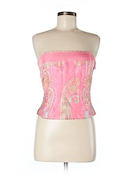J. McLaughlin Sleeveless Silk Top Size 8