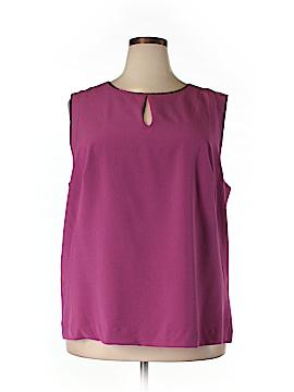 Enlo Sleeveless Blouse Size 18 (Plus)