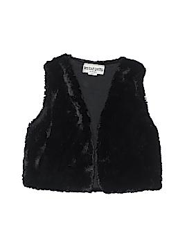 Les Tout Petits Faux Fur Vest Size 8