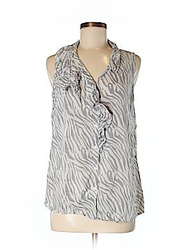 Ann Taylor LOFT Outlet Short Sleeve Blouse Size M