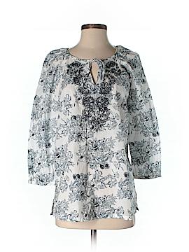 Saint Tropez 3/4 Sleeve Blouse Size M