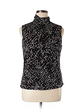 Sigrid Olsen Short Sleeve Top Size XL