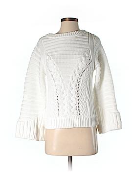 Pink Tartan Pullover Sweater Size XXS