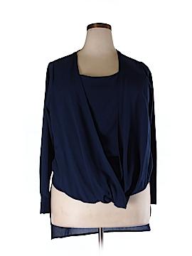 IGIGI Long Sleeve Blouse Size 12 (Plus)