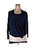 IGIGI Women Long Sleeve Blouse Size 12 (Plus)