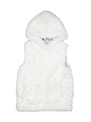 Mini Boden Faux Fur Vest Size 7