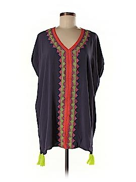 Love Stitch Short Sleeve Blouse Size Sm - Med