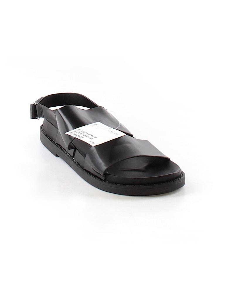 04108c9b0af Divided by H M Solid Black Sandals Size 8 - 49% off