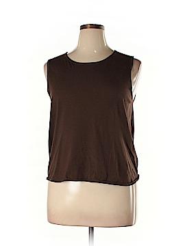 Company Ellen Tracy Sleeveless Silk Top Size 1X (Plus)