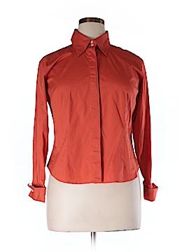 Talbott Long Sleeve Button-Down Shirt Size 14 (Petite)