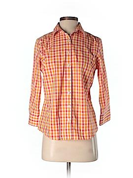 Lands' End 3/4 Sleeve Button-Down Shirt Size 4