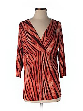 Carolyn Strauss 3/4 Sleeve Top Size S