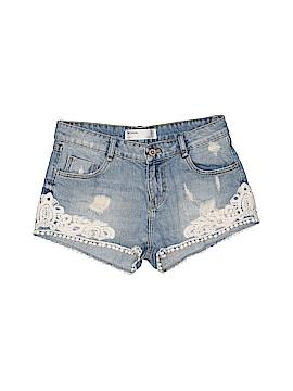 Zara TRF Denim Shorts Size 00