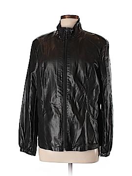 Adrienne Landau Faux Leather Jacket Size M