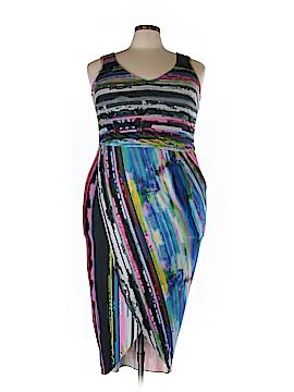 Amanda Uprichard Casual Dress Size 1X (Plus)
