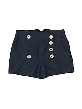 Knitted Dove Khaki Shorts Size 6