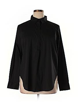 Universal Standard Long Sleeve Blouse Size S (Plus)