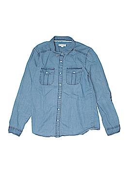 Tucker + Tate Long Sleeve Button-Down Shirt Size 14