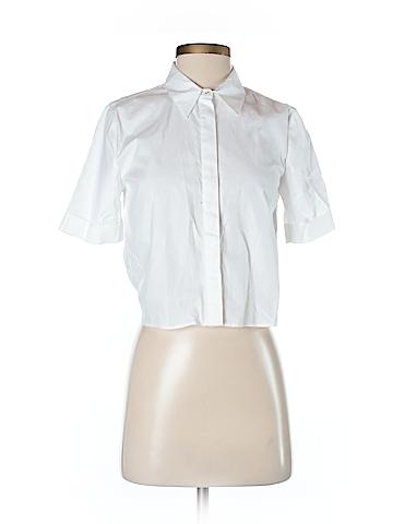 Kendall & Kylie Short Sleeve Button-Down Shirt Size XS