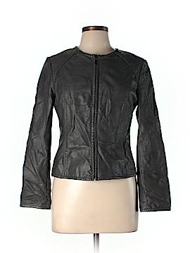 Alfani Faux Leather Jacket Size 10 (Petite)