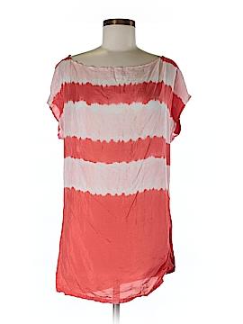Nurture Short Sleeve Silk Top Size S