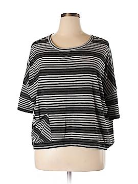 Emily Blu 3/4 Sleeve Blouse Size L