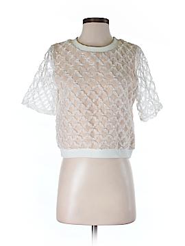 English Factory Short Sleeve Blouse Size S