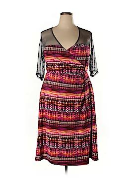 Kiyonna Casual Dress Size 3 (Plus)