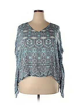 BB Dakota Short Sleeve Blouse Size 1X (Plus)