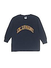 Gildan Boys Long Sleeve T-Shirt Size S (Youth)