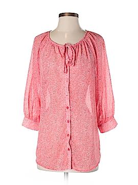 Olivia Moon 3/4 Sleeve Blouse Size S