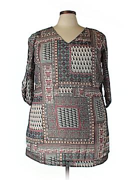 JunaRose 3/4 Sleeve Blouse Size 18 (Plus)