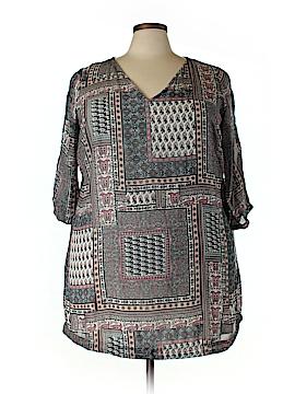 JunaRose 3/4 Sleeve Blouse Size 20 (Plus)