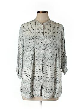 Carmakoma 3/4 Sleeve Blouse Size XXS