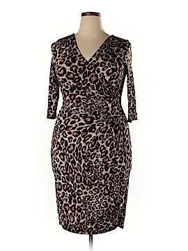 Kiyonna Casual Dress Size 4 (Plus)