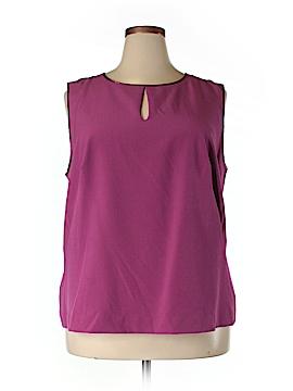 Enlo Sleeveless Blouse Size 16