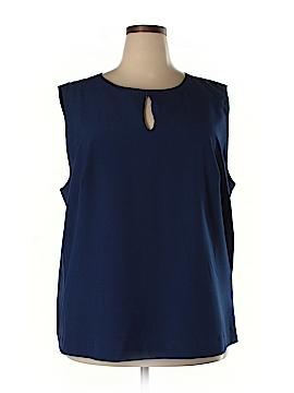 Enlo Sleeveless Blouse Size 22 (Plus)