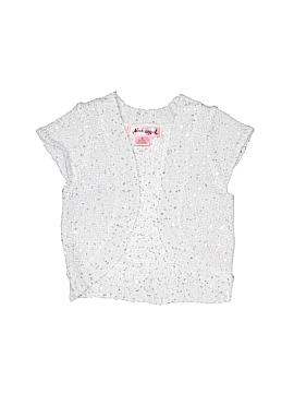 Pink Angel Cardigan Size 6X