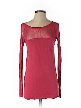 Cache Silk Pullover Sweater Size M