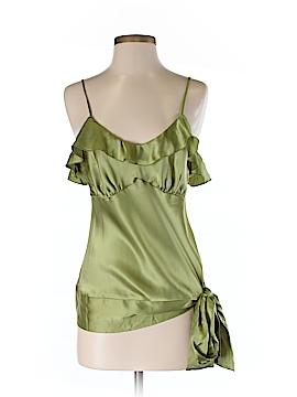 ABS Allen Schwartz Sleeveless Silk Top Size M