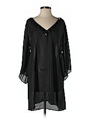 Carmen Marc Valvo Women 3/4 Sleeve Silk Top Size XS