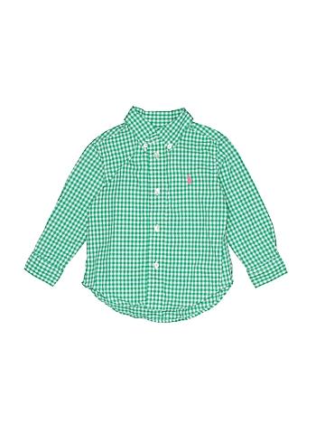 Ralph Lauren Long Sleeve Button-Down Shirt Size 18 mo