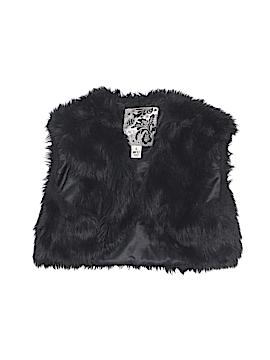 The Children's Place Faux Fur Vest Size 10/12