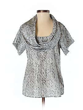 BOSS by HUGO BOSS Short Sleeve Silk Top Size 2