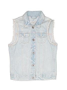 Abercrombie Denim Vest Size 14
