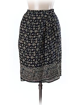 Adrienne Vittadini Silk Skirt Size 8