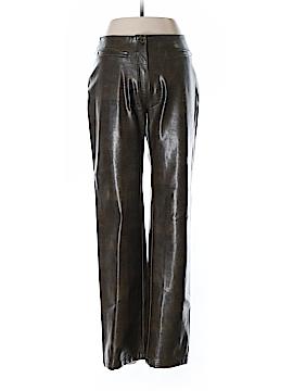 Tempo Paris Faux Leather Pants Size 4