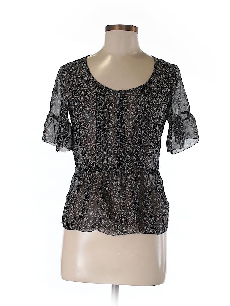 Eliot Women Short Sleeve Blouse Size XS